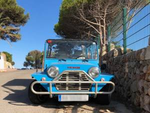 Minorque buggy bleu ©N.Andral