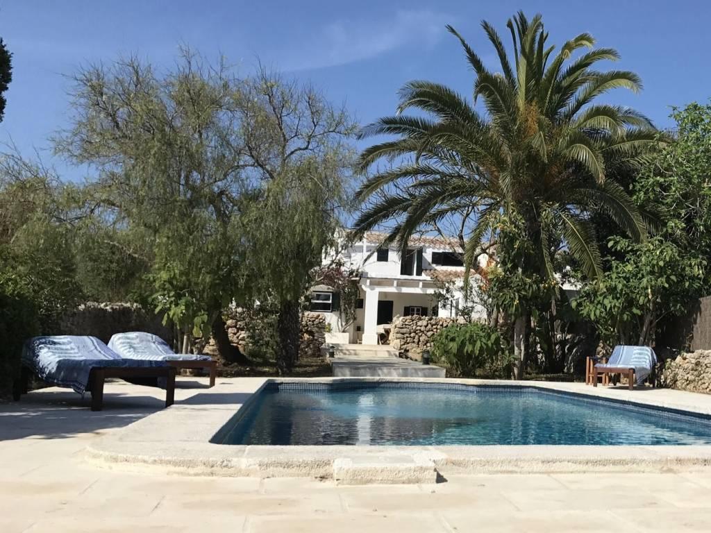 Minorque privee maison stef nico piscine