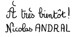 Signature Nicolas Andral